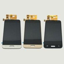 Лучшие Для samsung Galaxy J1 J120F J120DS J120G J120M J120H J120W J120 Сенсорный экран планшета + ЖК-дисплей Дисплей Панель монитора в сборе