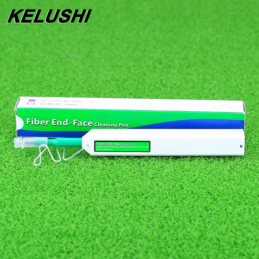 KELUSHI 2018 New 2.5mm One-Click Cleaner Cleaning Pen Fiber Optic Cleaner For SC ST And FC