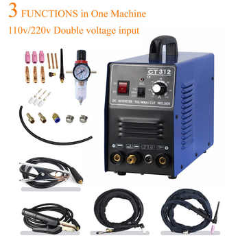 Tosense 110/220V Dual Voltage 3 In 1 Multifunction Welding Machine TIG ARC Welder Plasma Cutting CT312 With Free Accessory - DISCOUNT ITEM  8% OFF All Category