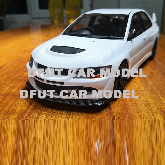 1:18 합금 랜서 evo 8 mr FQ 400 어린이 장난감 자동차의 자동차 모델 원래 공인 정통 어린이 장난감