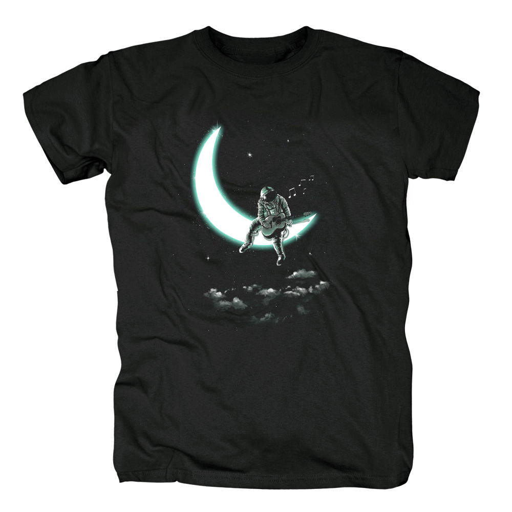 Bloodhoof 2018 the moon song unisex t-shirt Men black cotton Tshirt Short Sleeve Tops tee clothing