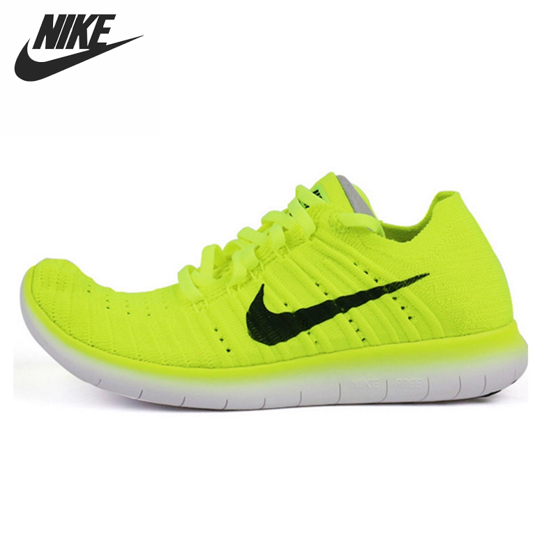 кроссовки nike flyknit free 4 0 631053 100 Original New Arrival  NIKE  FREE RN FLYKNIT R Women's Running Shoes Sneakers