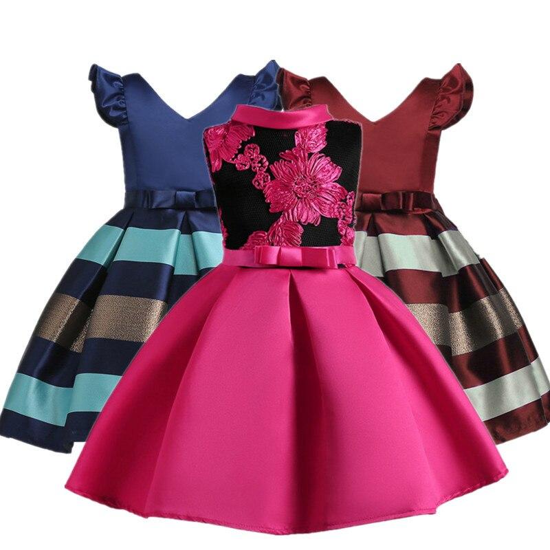 3c59ef9f8 Для девочек в цветочек платья костюм принцессы пышными оборками юбка-пачка; детская  одежда Нарядное платье без рукавов Детские летние плат.