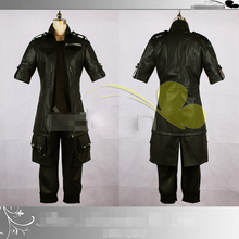 Hot Anime Final Fantasy XV Noctis Lucis Caelum Leather Fashion Uniforms Cosplay Costume Any Size Free Shipping