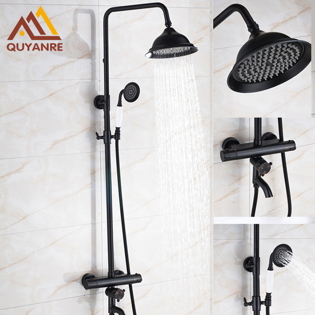 Wall Mounted Bath Amp Shower Faucets Thermostatic With