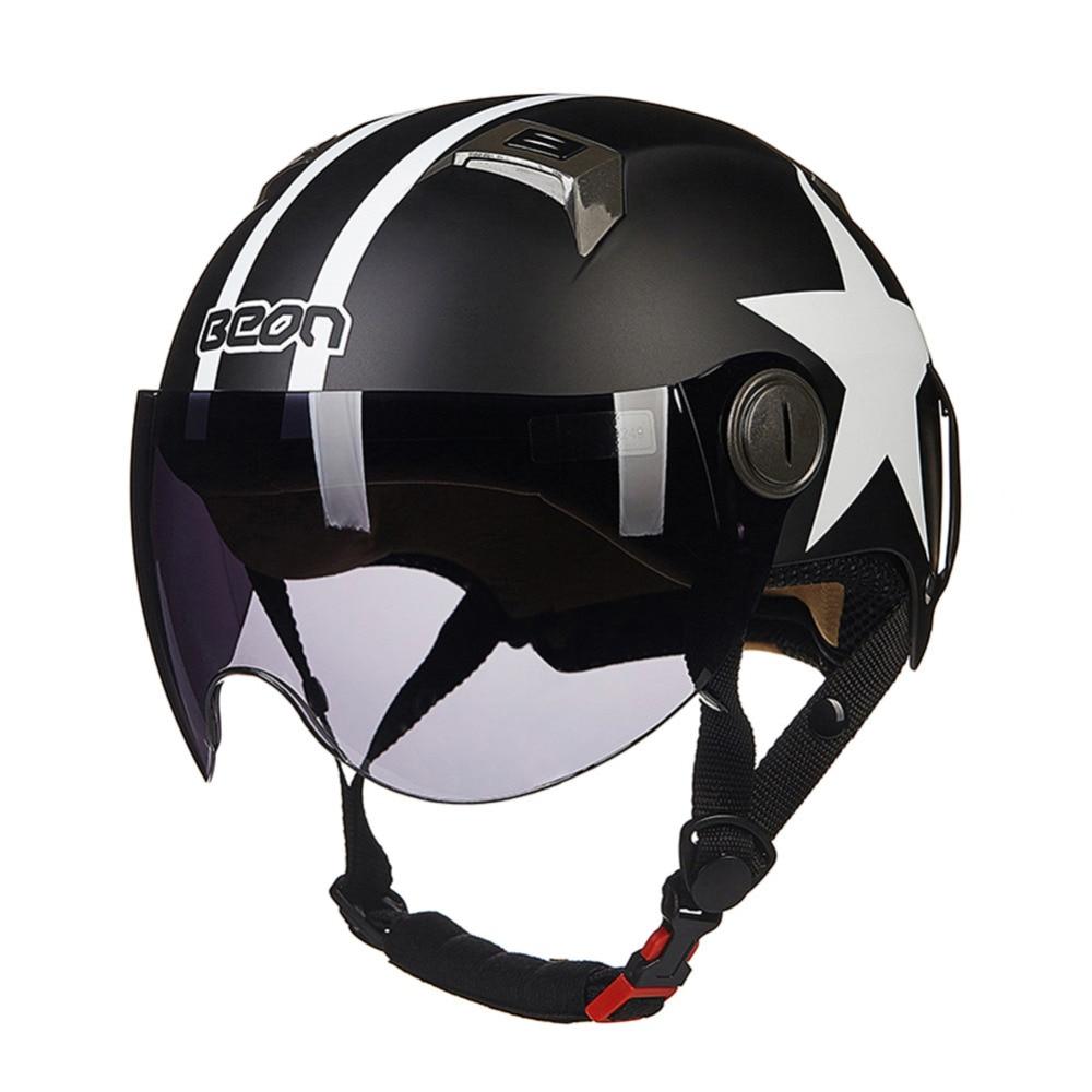BEON Scooter Motorcycle Helmet Chopper Half Face Vintage Helmet Moto Casque Casco motocicleta Capacete Vespa Unisex helmets bluetooth motorcycle vespa helmet