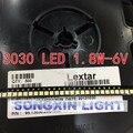100 pcs Lextar LEVOU Retroiluminação LED de Alta Potência 1.8 W 3030 6 V Cool white 150-187LM PT30W45 V1 TV Aplicação