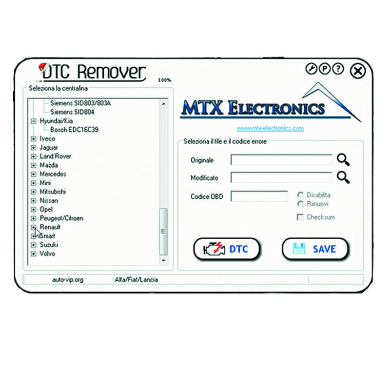 Mtx Dtc Remover Download