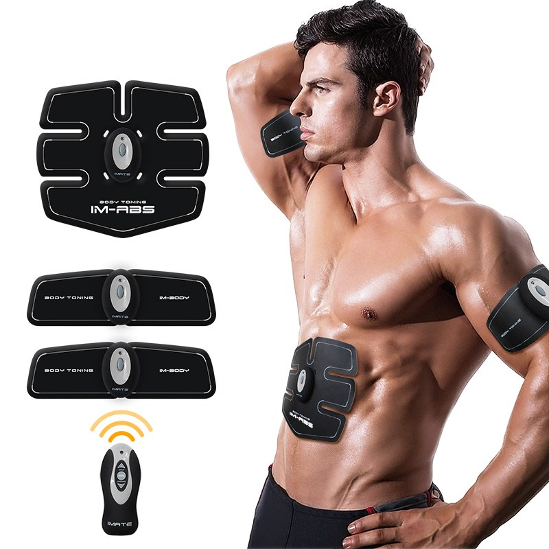 Rechargeable EMS ab Gym Electronic Body Muscle Arm Waist Abdominal Exerciser Muscle Massage Machine Viberating Fat Burner Toning ab gymnic electronic body muscle arm leg waist abdominal massage exercise toning belt slim fit yf2017