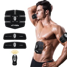 Rechargeable EMS ab Gym Electronic Body Muscle Arm Waist Abdominal Exerciser Muscle Massage Machine Viberating Fat Burner Toning