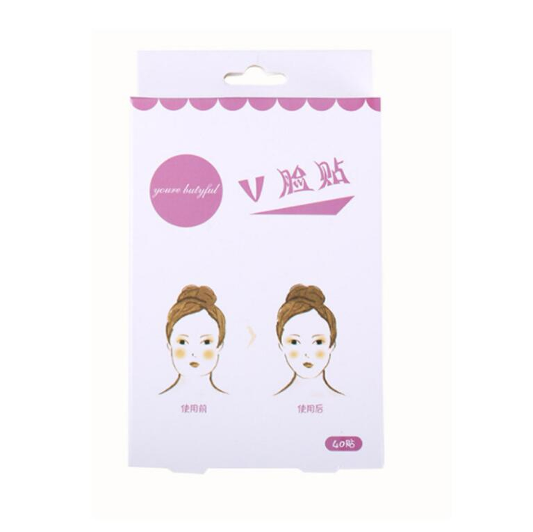 Image 4 - 40 Pcs/Set Invisible Thin Face Stickers Face Facial Line Wrinkle Sagging Skin V Shape Face Lift Up Fast Chin Adhesive Tape-in Face Skin Care Tools from Beauty & Health