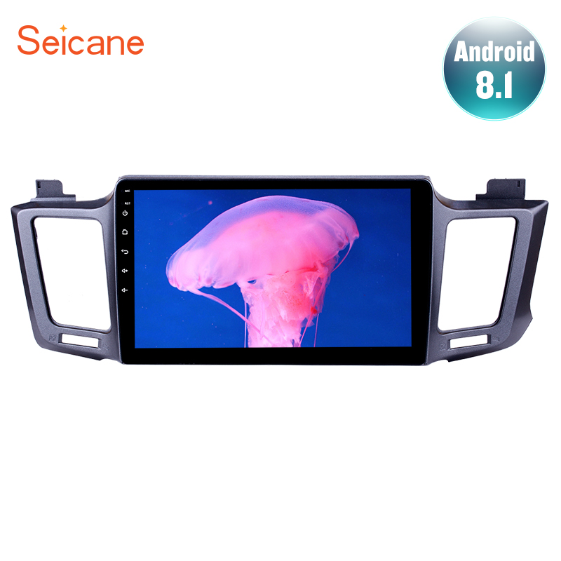 Seicane 10.1 Android 8.1 For 2013 2014 2015 2016 Toyota RAV4 Car GPS Navigation Radio Multimedia Player Quad core Mirror link