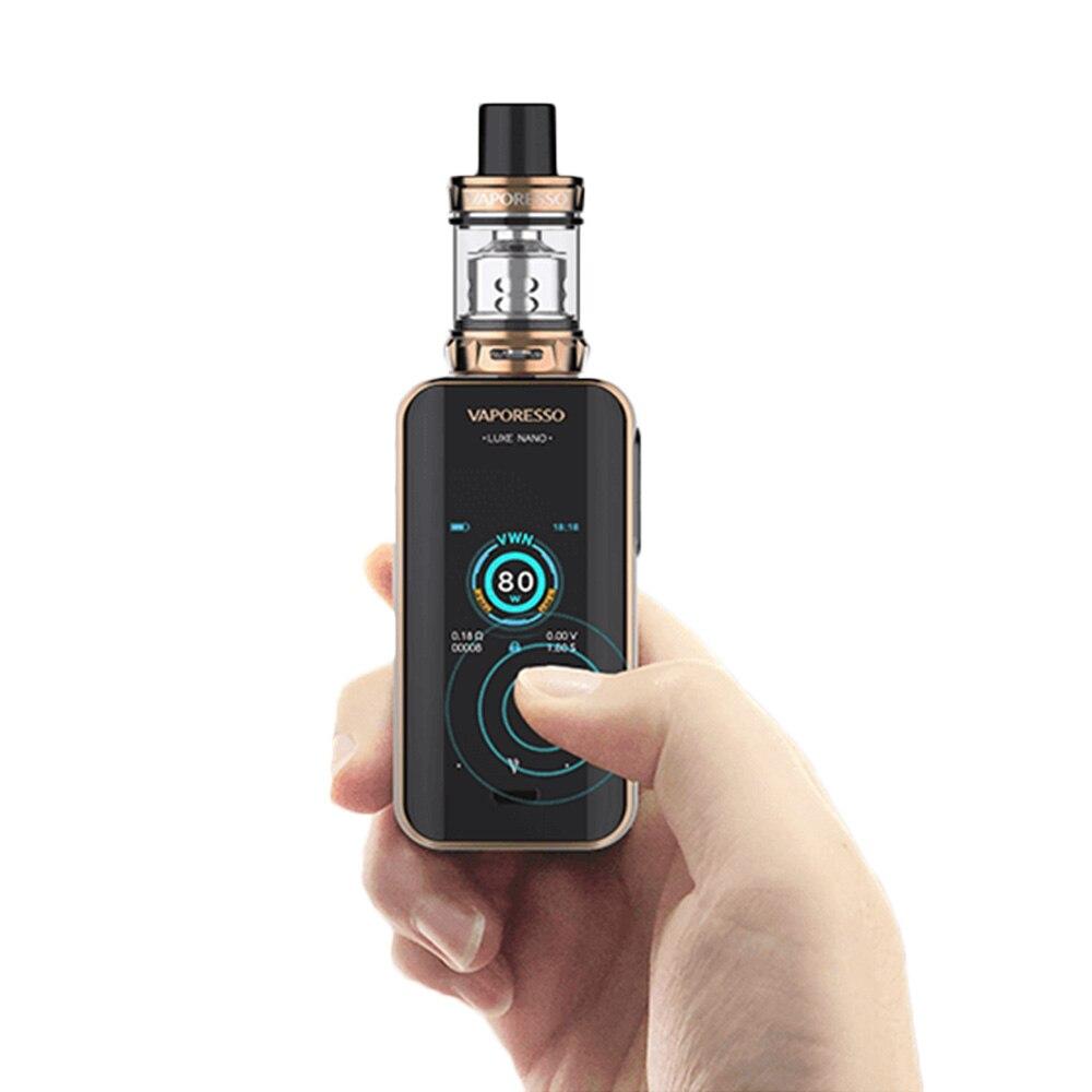 Kit Original d'écran tactile Nano Vaporesso Luxe 80 W avec batterie intégrée 2500 mAh et Kit Mini réservoir SKRR-S 3.5 ml/2 ml VS LUXE - 3