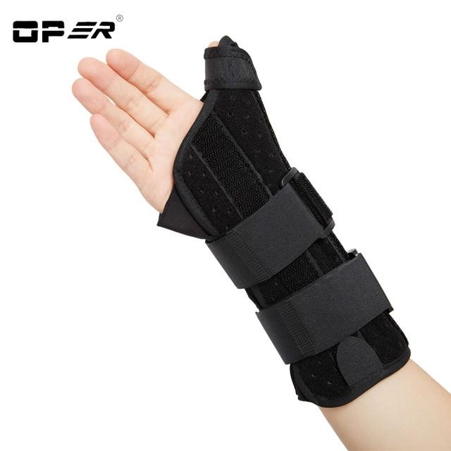 Oper Wrist Thumb fixation Brace Support Wristbands orthosis Stabilizer Brace 3 Aluminum Splint Inside Scaphoid Fracture WH-06