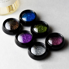 5pcs/set 3ml/5ml black small round box Eye shadow dispensing box plastic Cream bottle Nail polish box wholesale BQ228 все цены