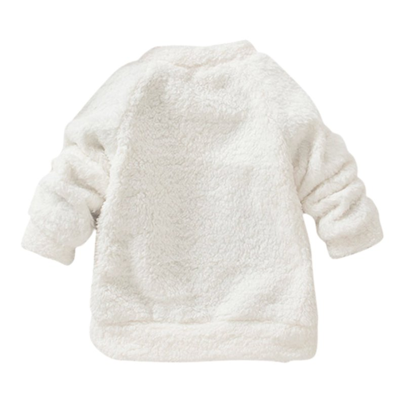 2017-New-Arrival-Autumn-winter-models-Children-Baby-Clothing-Boys-Girls-Lovely-Bear-Furry-White-Coat-Thick-Sweater-Warm-Coat-2