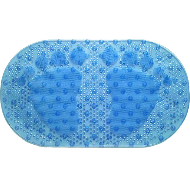 Free Shipping Plastic PVC Bath Mats feet Non-slip Mat Bathroom Products Carpet for Bathroom Anti Slip Mats for With Sucker