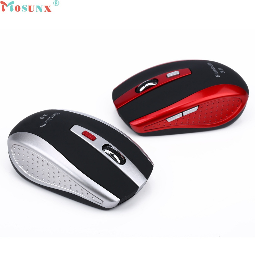 New Wireless Gaming Mouse Mini Bluetooth 3.0 6D 2400DPI Optical Mice for Laptop Nov2 hiperdeal new 2 4ghz mini wireless optical gaming mouse mice