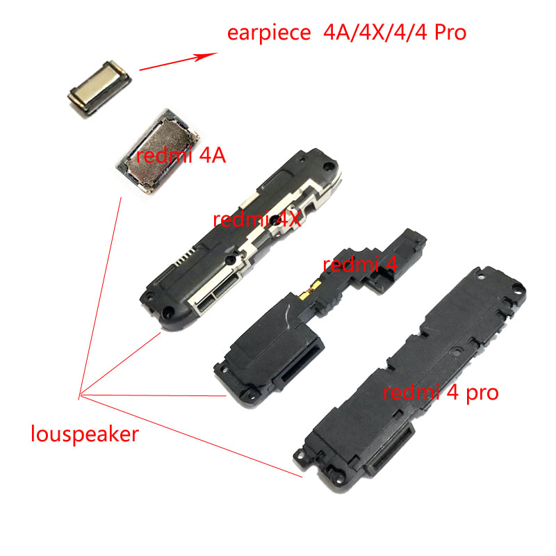 NEW Loudspeaker Loud Speaker Earpiece Ear Piece For Xiaomi Redmi 4A  4 4x 4 Pro Buzzer Ringer Board Replacement Spare Parts