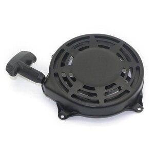 Image 4 - Zwart Onderdelen Vervanging Tool Pull Terugloopstarter 497680 Toro Grasmaaier Metalen Plastic Montage Voor Briggs Stratton
