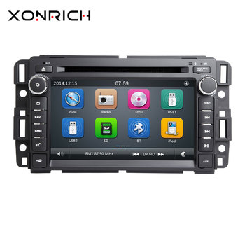 Car DVD Player GPS Navi Radio for GMC Sierra Denali Yukon Chevrolet Traverse Express Acadia Savana Equinox para chebroletscreen