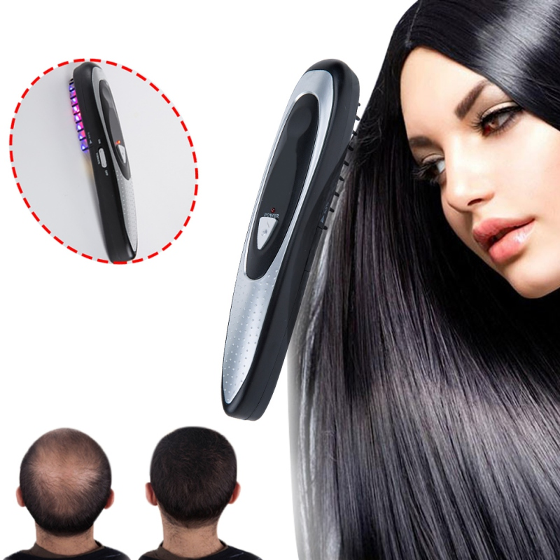 Professionale Per Lo Styling Dei Capelli di Trucco Pettine del Laser Crescita Dei Capelli Perdita di capelli Trattamento Ricrescita Elettrico A Infrarossi Stimolatore Cura Attrezzo di Trucco