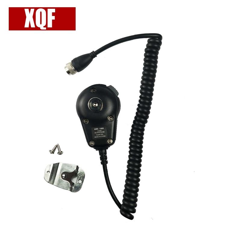 XQF HM-180 Microphone For ICOM IC-M700 IC-M710 IC-M700PRO IC-M600 Radio Hand Mic