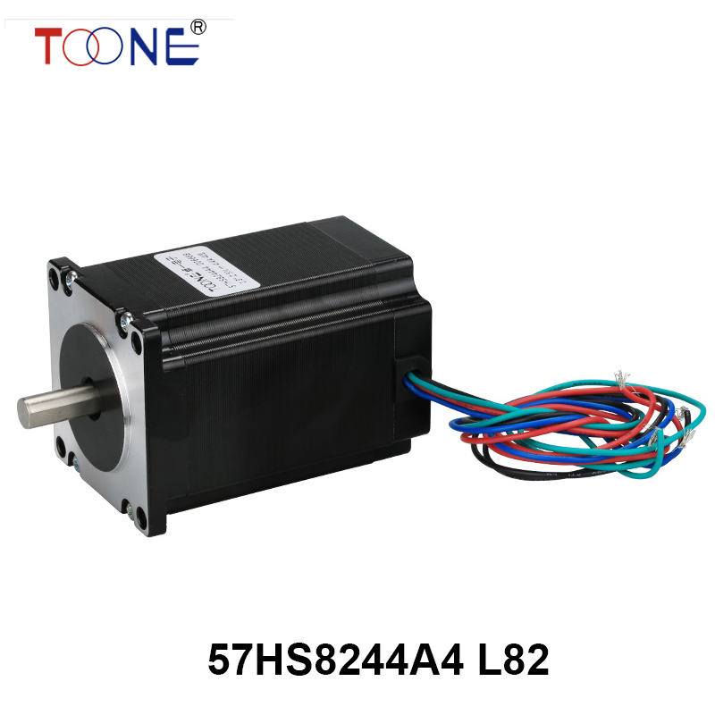 57 series motor drive two-phase stepper motor for single-axis output engraving machine 3D printing motor 57HS8244A4 L82 5786 stepper motor drive stepper drives b804 series of original