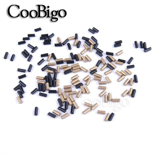 100 tamaño unids/pack (2,2*5mm) encendedor Universal Flints piedra gasolina Gas encendedor reemplazar accesorios de repuesto