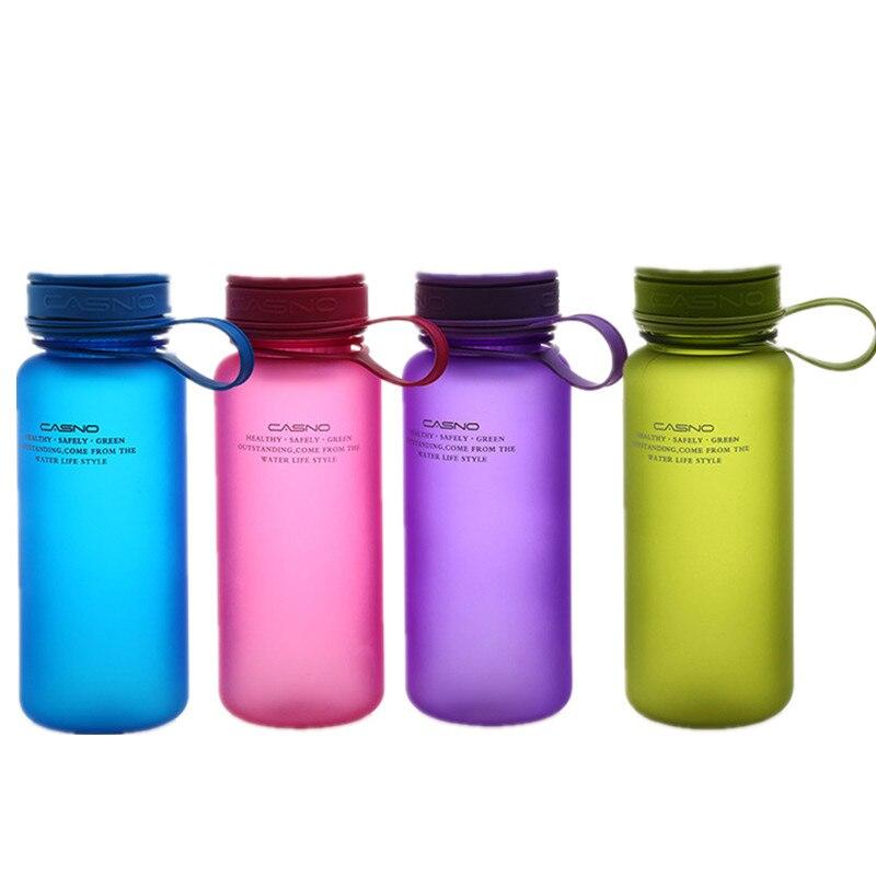 400ML/600ML Plastic Leak Proof Seal Sport Water Bottle Tour Outdoor Travel Bicycle Camping School Drinking Bottles Equipment