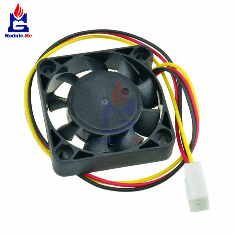 3 штифта 4 см вентилятор охлаждения процессора компьютера Вентилятор охлаждения ПК высотой 4 см; 40x40x10 мм DC 12 V