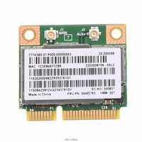 300Mbps 2,4 + 5GHZ BCM943228HMB Bluetooth 4,0 de mitad de semestre Mini PCI-e inalámbrico tarjeta WiFi para Lenovo ThinkPad E430 E130 E435 E530