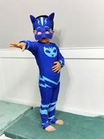 Ainclu Les Pyjamasques Fantasia Infantil Cosplay PJ Masks Hero Costume Birthday Party Dress Set For Christmas