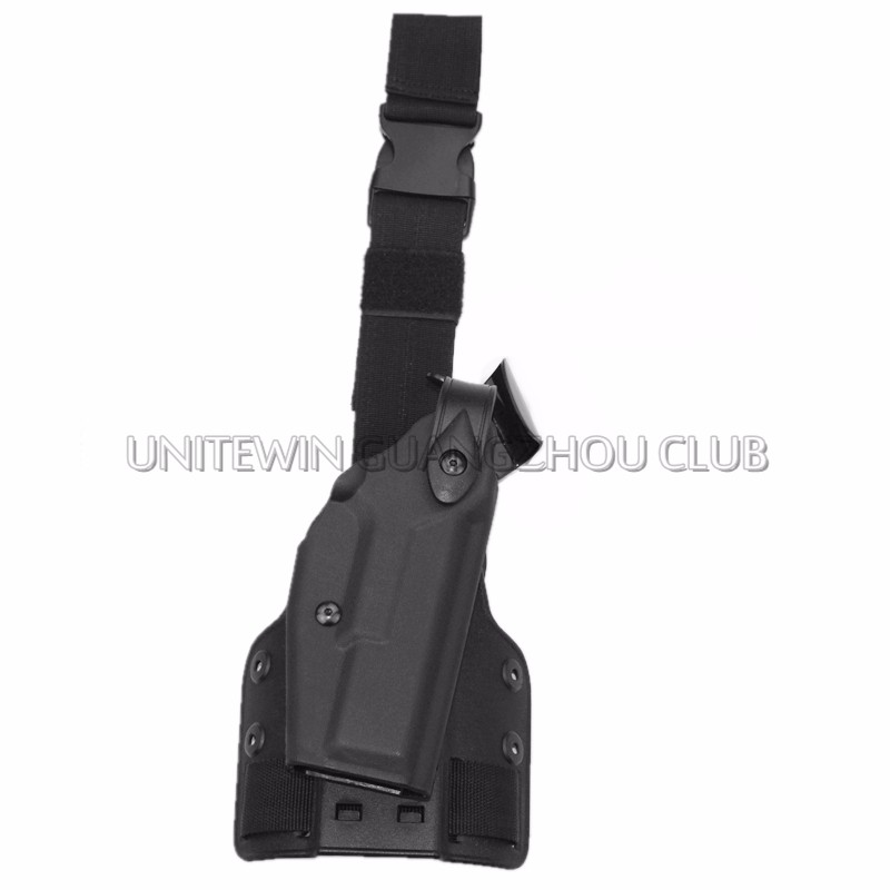 Venta caliente Tactical Holster Pierna Del Muslo Airsoft Paintball Caza Al Aire