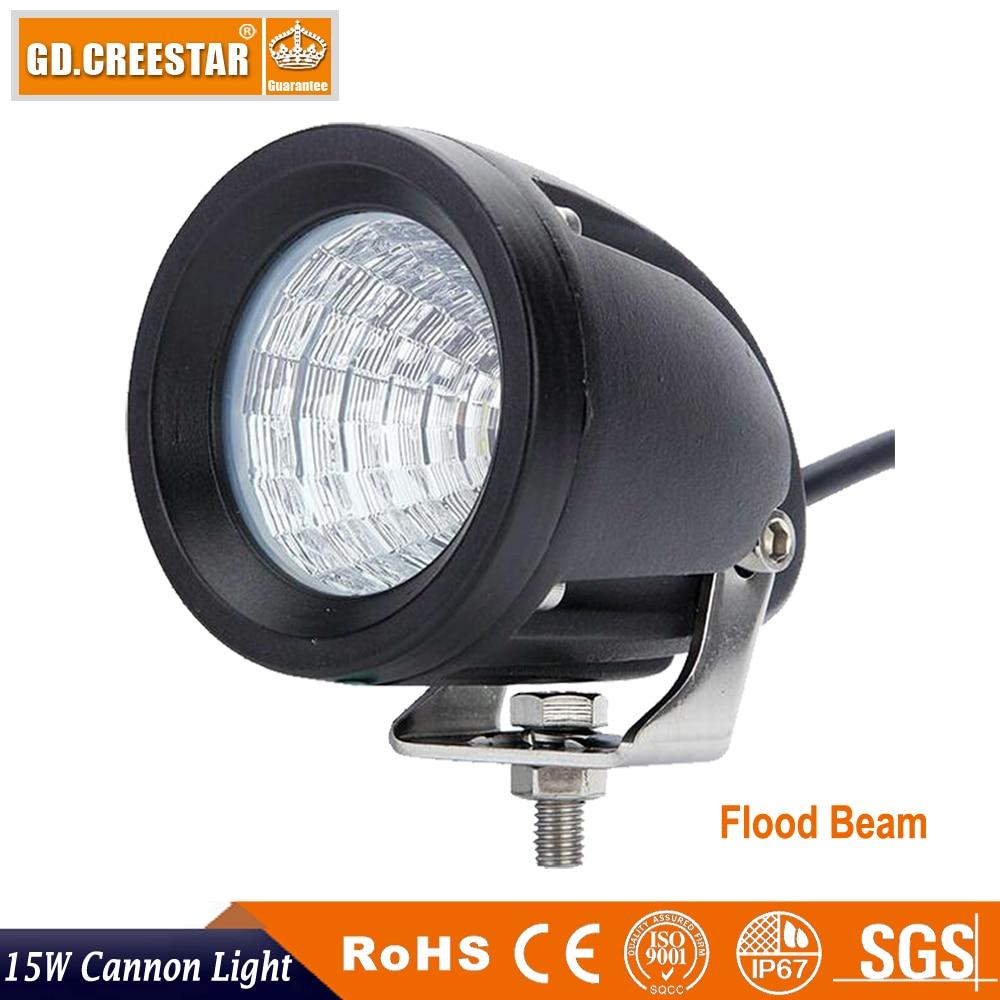 15W 3inch LED աշխատանքային լուսավորություն - Ավտոմեքենայի լույսեր - Լուսանկար 3