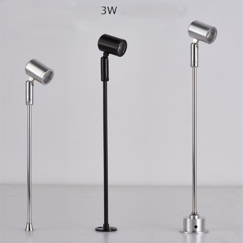 Us 29 0 Led Counter Lamp 3w Jewelry Showcase Light High 40cm Spot Lighting 3pcs In Track From Lights On Aliexpress