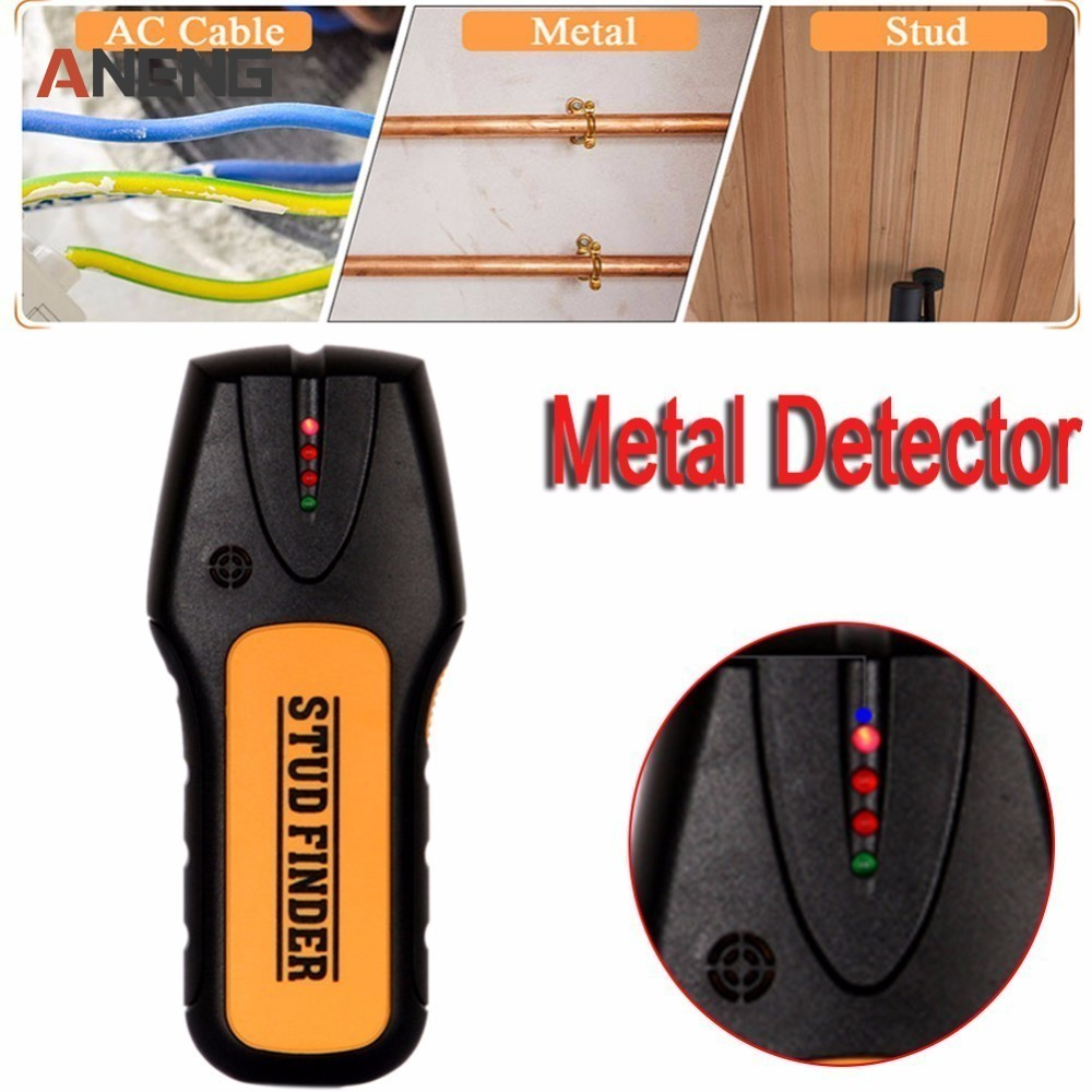 3 In 1 Metal Detectors TS-78B Find Metal Wood Studs AC Voltage Live Wire Wall Detector Detect Wall Scanner Electrical
