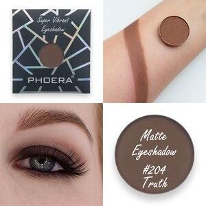 Image 4 - PHOERA Morbido Glitter Eyeshadow Pallete Metallic Opaco Naturale Ombretto Shimmer Polvere di Cosmetici del Pigmento di Trucco Lunga Durata 2019