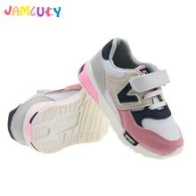 Anak-anak Sneakers Sepatu Anak-anak Gadis Musim Semi Cahaya Sepatu Lari Untuk Anak Laki-laki Nyaman Kait & Loop Gadis Karet Sole Sneakers Musim Semi