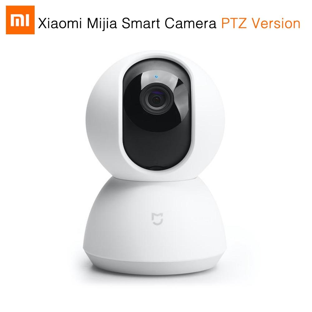 Original Xiaomi Mijia Smart Camera 720 P Night Vision Webcam IP Camera Camcorder 360 Angle PTZ WIFI Wireless Magic Zoom xiaomi mijia smart temperature control
