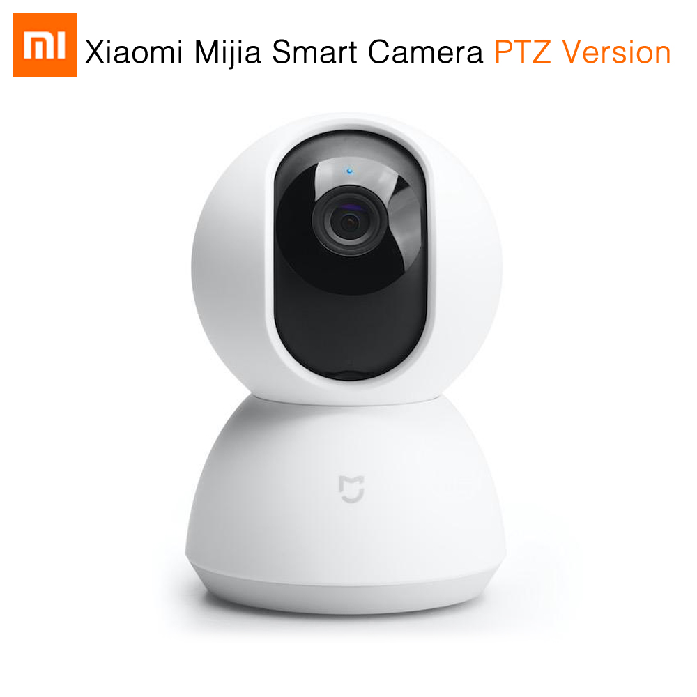 Original Xiaomi Mijia Smart Camera PTZ Version 720P Night Vision Webcam 360 Angle <font><b>Camcorder</b></font> WiFi Wireless Mute Motor Magic Zoom