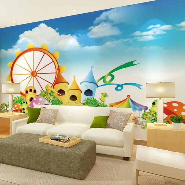 Foto personalizzata wallpaper maschio ragazza camera da letto arte ...