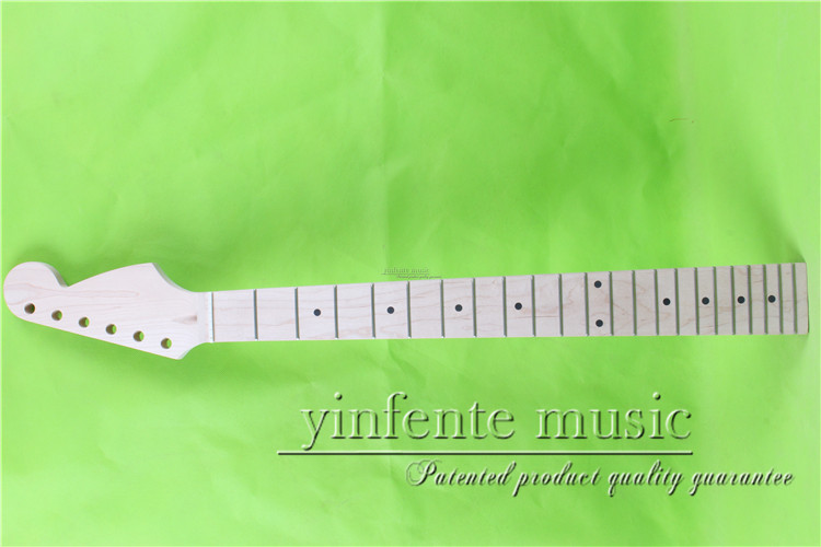 25.5 Electric guitar neck maple made Bolt on maple wood fingerboard fine quality 22 fret 004# 25 5 electric guitar neck mahogany made bolt on maple fingerboard fine quality 22 fret 0019