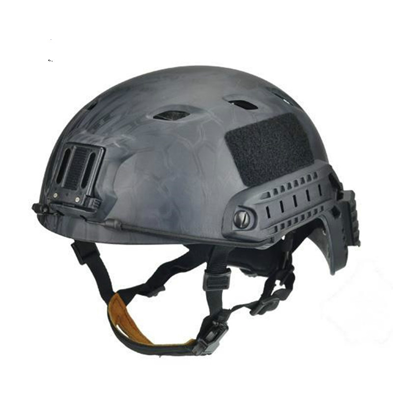 2017 FMA Tactical Skirmish Airsoft Jump Helmet A-Tacs MOLLE Gear High Quality For Combat Hunting TB973/TB472 Free Shipping 2017new fma maritime tactical helmet abs de bk fg for airsoft paintball tb815 814 816 cycling helmet safety