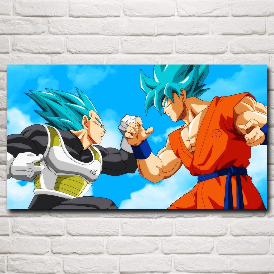 Vegeta affiche promotion achetez des vegeta affiche for Dragon ball z mural