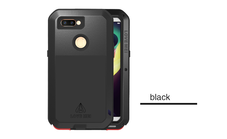 Aluminum Metal Case For OPPO R11s Cover Powerful Armor Shockproof Life Waterproof Case For OPPO R11s (6.01 Inch) Coque