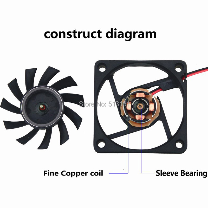 5v dupont 60mm fan 7