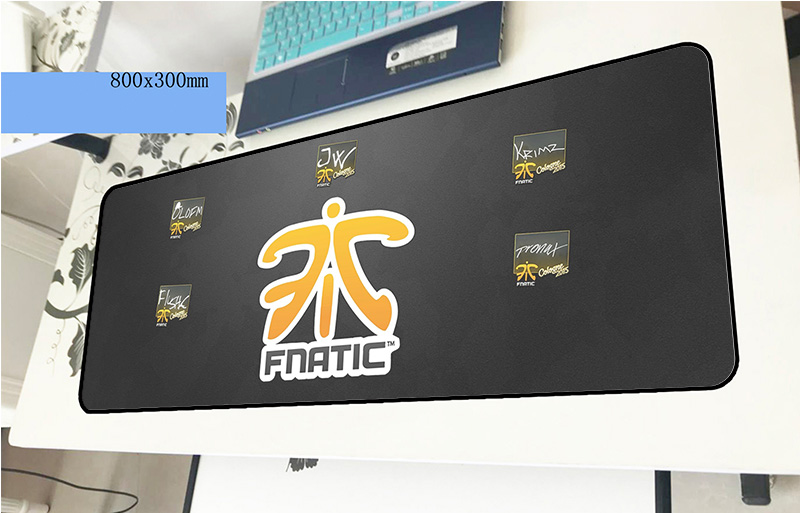 fnatic mousepad gamer Fashion 800x300x3mm gaming mouse pad Halloween Gift font b notebook b font pc