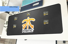 fnatic mousepad gamer Fashion 800x300x3mm gaming mouse pad Halloween Gift notebook pc accessories laptop padmouse ergonomic