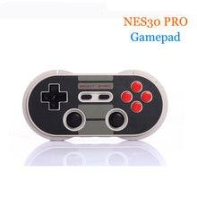 8 bitdo NES30 Pro Беспроводной контроллер Bluetooth геймпады классический двойной джойстик для IOS Android игры Pad PC Mac Linux + Держатель